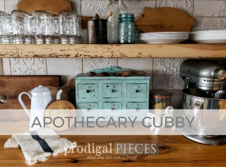 Apothecary Cubby by Larissa of Prodigal Pieces | prodigalpieces.com