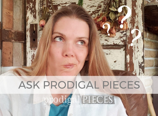 Ask Prodigal Pieces ~ A Blogger Interview | prodigalpieces.com