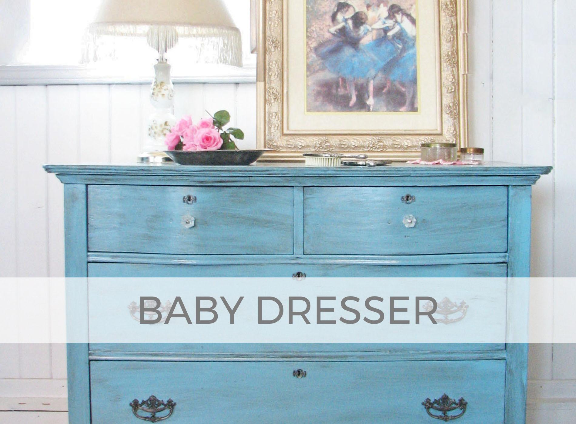 Antique Dresser made new for Baby by Larissa of Prodigal Pieces | prodigalpieces.com