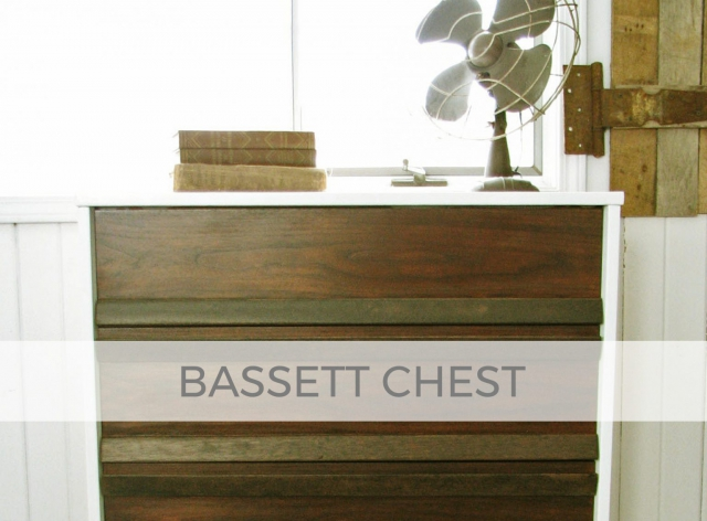 Vintage Bassett Chest of Drawers by Larissa of Prodigal Pieces | prodigalpieces.com #prodigalpieces