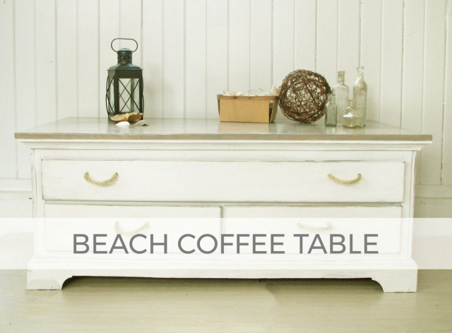 Beach Coffee Table by Larissa of Prodigal Pieces | prodigalpieces.com