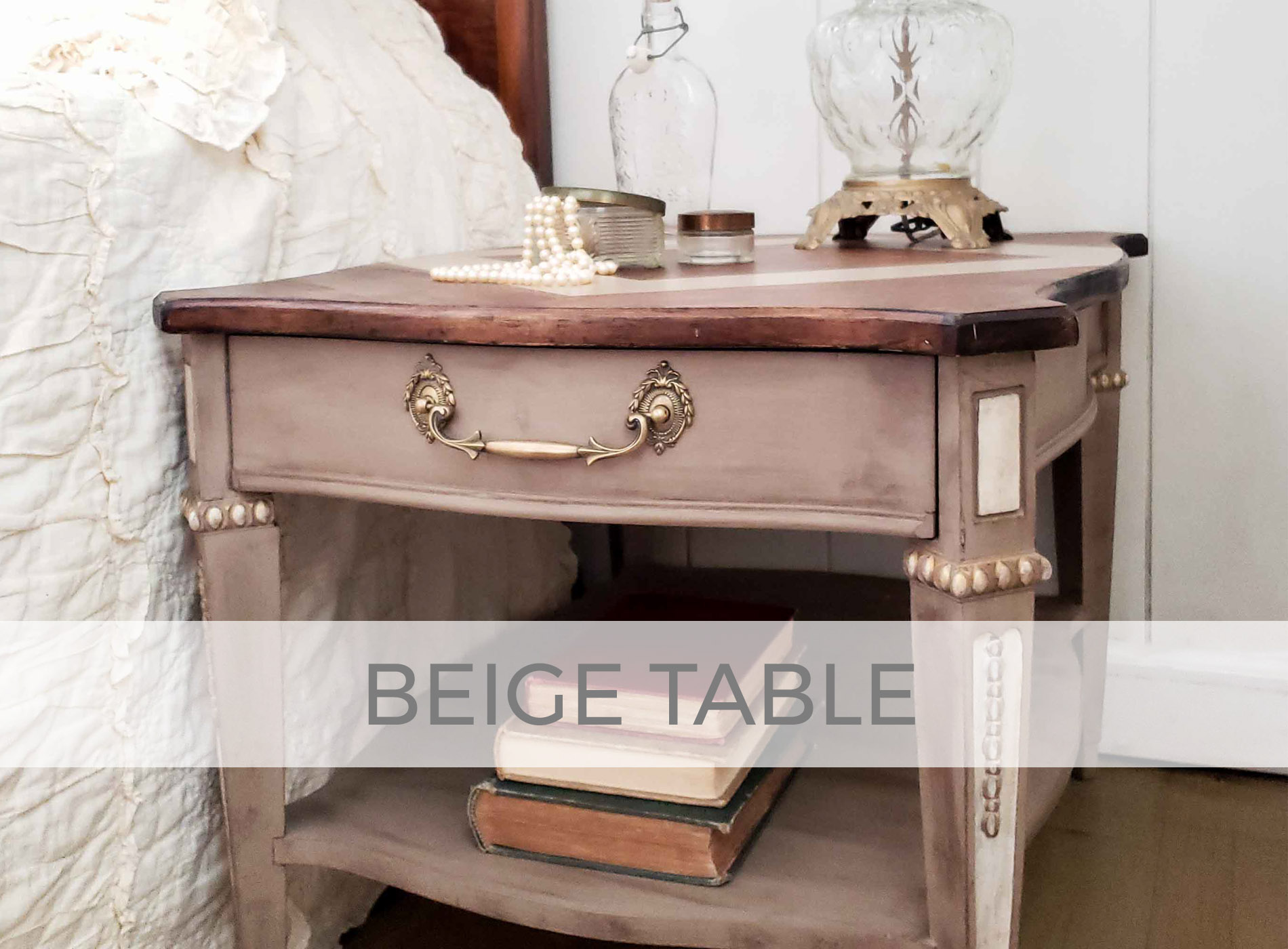 Vintage Table Made New by Larissa of Prodigal Pieces | prodigalpieces.com