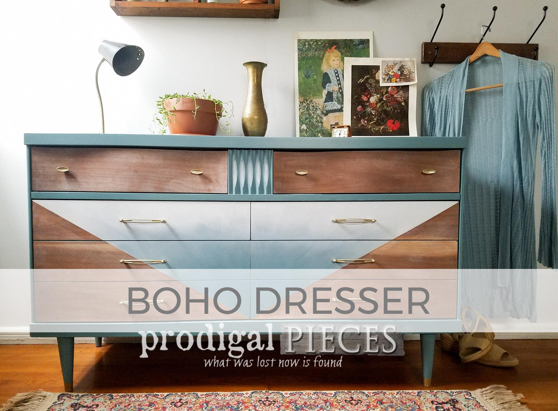 Vintage Boho Style Dresser by Larissa of Prodigal Pieces | prodigalpieces.com