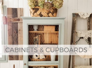 Cabinets and Cupboards by Larissa of Prodigal Pieces | prodigalpieces.com