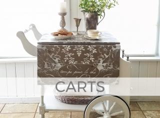 Carts by Larissa of Prodigal Pieces | prodigalpieces.com
