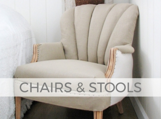 Chair and Stool Makeovers by Larissa of Prodigal Pieces | prodigalpieces.com #prodigalpieces