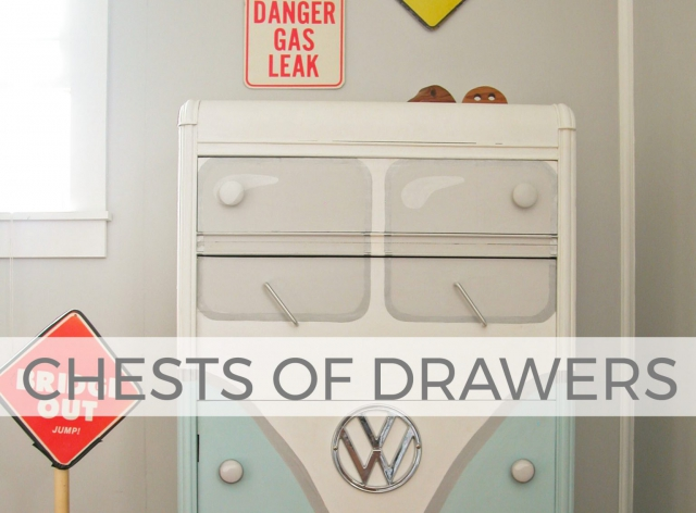 Chests of Drawers by Larissa of Prodigal Pieces | prodigalpieces.com