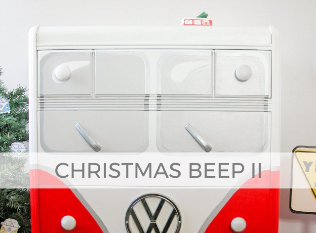 Volksagen Chest of Drawers ~ Christmas Beep II | prodigalpieces.com #prodigalpieces