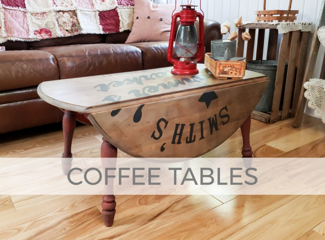 Coffee Table Makeovers by Larissa of Prodigal Pieces | prodigalpieces.com