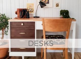 Desks by Larissa of Prodigal Pieces | prodigalpieces.com
