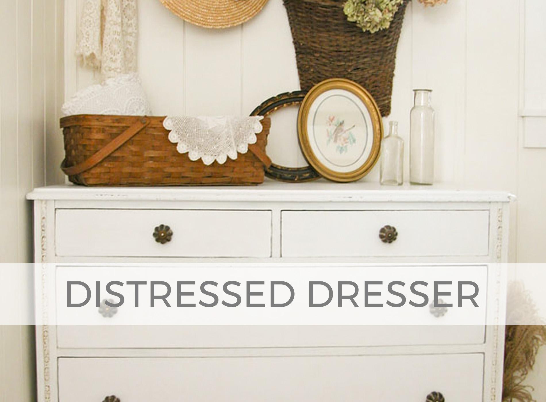 Distressed Dresser by Larissa of Prodigal Pieces | prodigalpieces.com