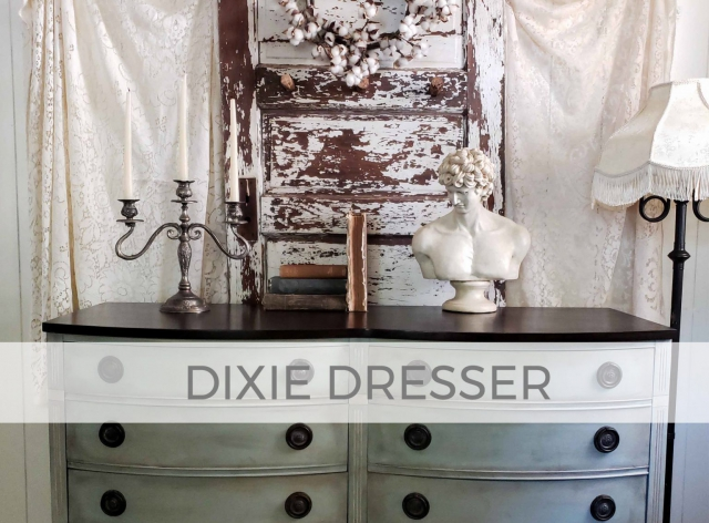 Vintage Dixie Dresser by Larissa of Prodigal Pieces | prodigalpieces.com #prodigalpieces