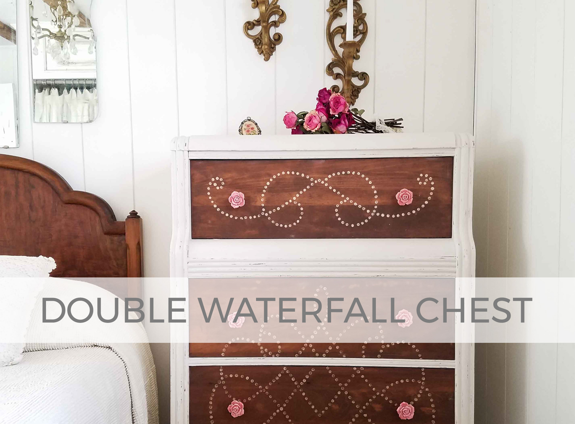 Antique Art Deco Double Waterfall Chest of Drawers by Prodigal Pieces | prodigalpieces.com #prodigalpieces