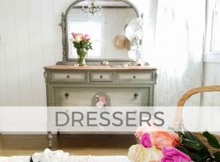 Dressers by Larissa of Prodigal Pieces | prodigalpieces.com
