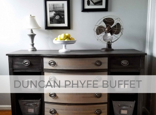 Duncan Phyfe Buffet by Prodigal Pieces | prodigalpieces.com
