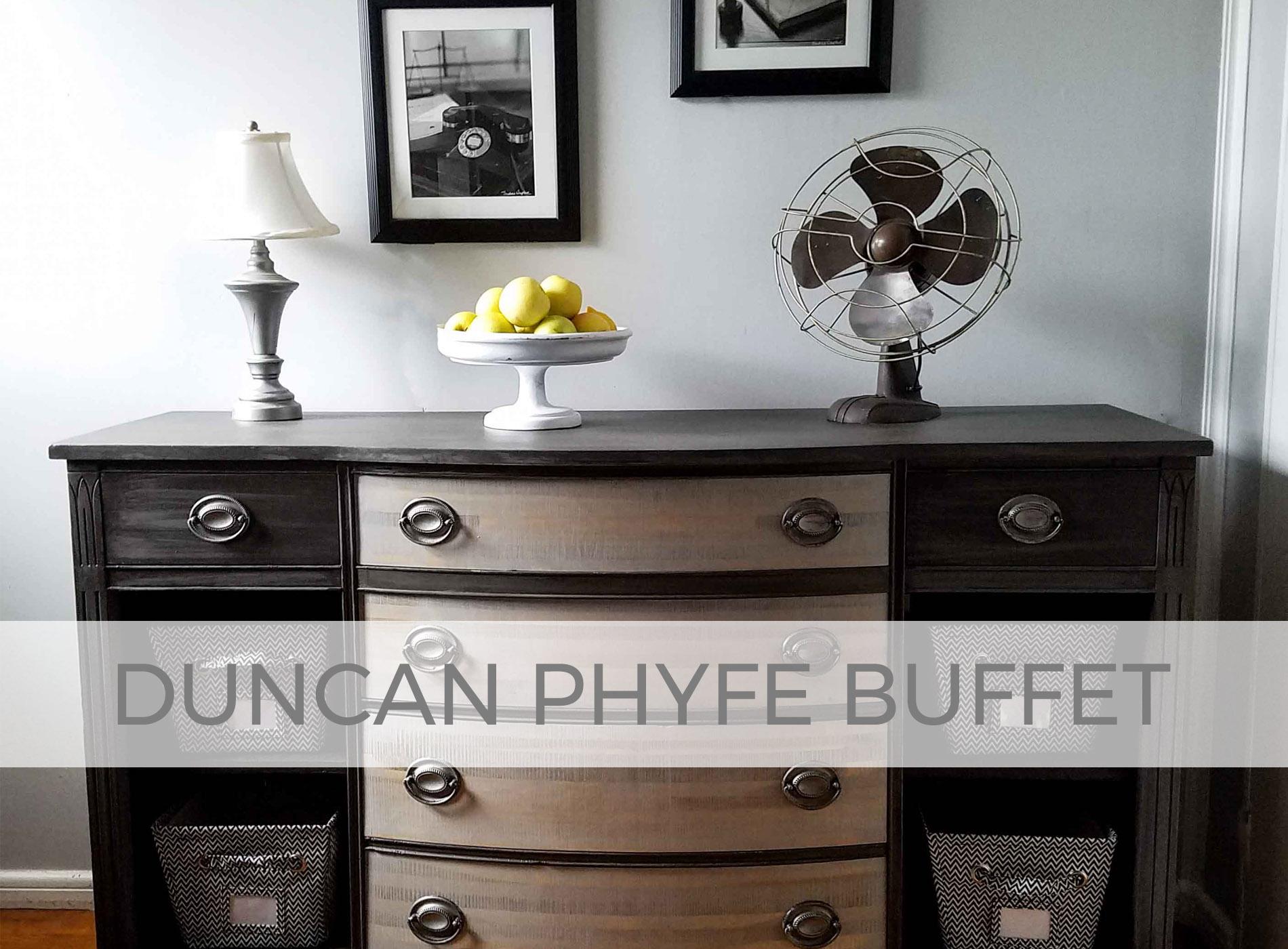 Duncan Phyfe Buffet by Prodigal Pieces | prodigalpieces.com