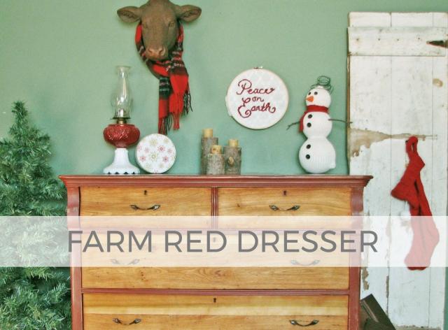 Farm Red Dresser by Larissa of Prodigal Pieces | prodigalpieces.com