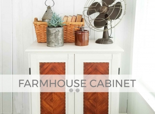 Farmhouse Chic Cabinet by Larissa of Prodigal Pieces | prodigalpieces.com #prodigalpieces