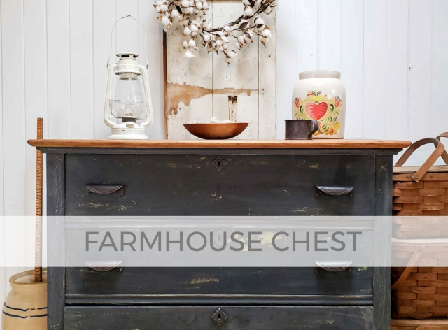 Farmhouse Chest Nightstand by Larissa of Prodigal Pieces | prodigalpieces.com #prodigalpieces
