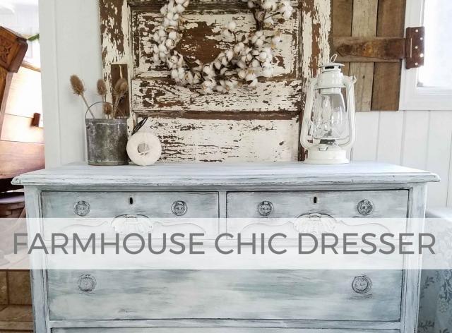 Farmhouse Chic Dresser Tutorial by Larissa of Prodigal Pieces | prodigalpieces.com