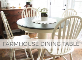 Farmhouse Dining Table Makeover by Larissa of Prodigal Pieces | prodigalpieces.com