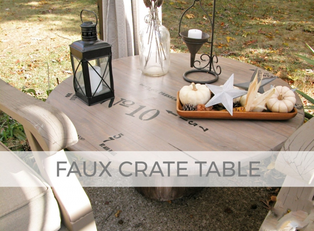 Build a Faux Crate Table with Prodigal Pieces | prodigalpieces.com