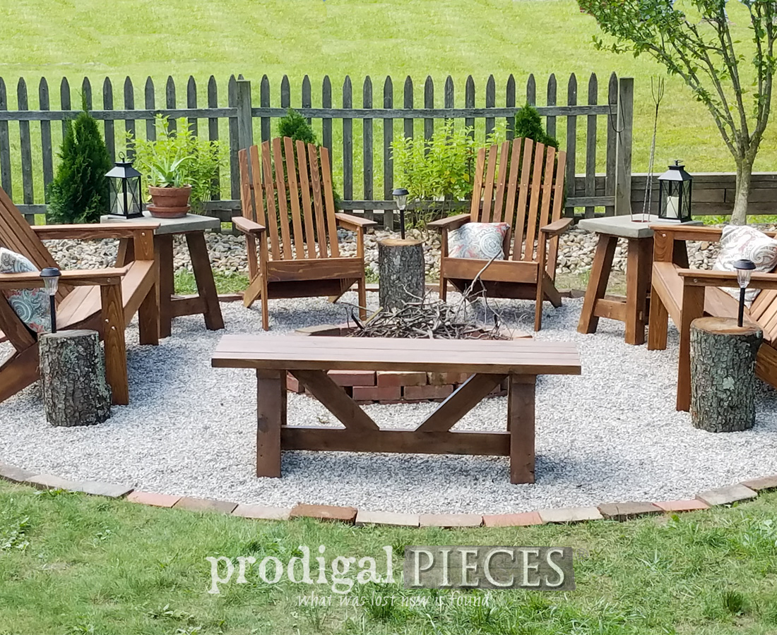 DIY Fire Pit by Larissa of Prodigal Pieces | prodigalpieces.com