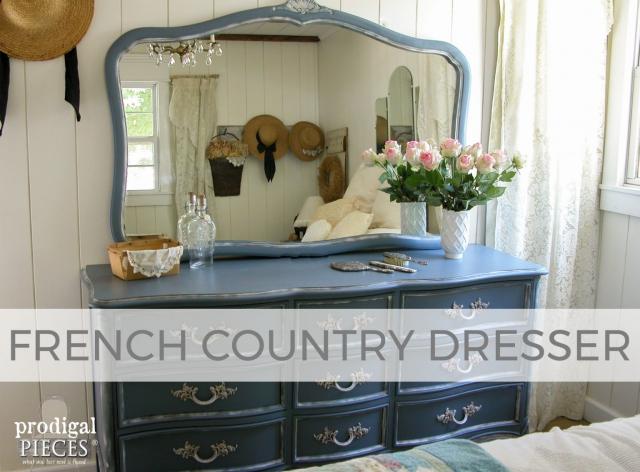 French Country Dresser Set by Larissa of Prodigal Pieces | prodigalpieces.com