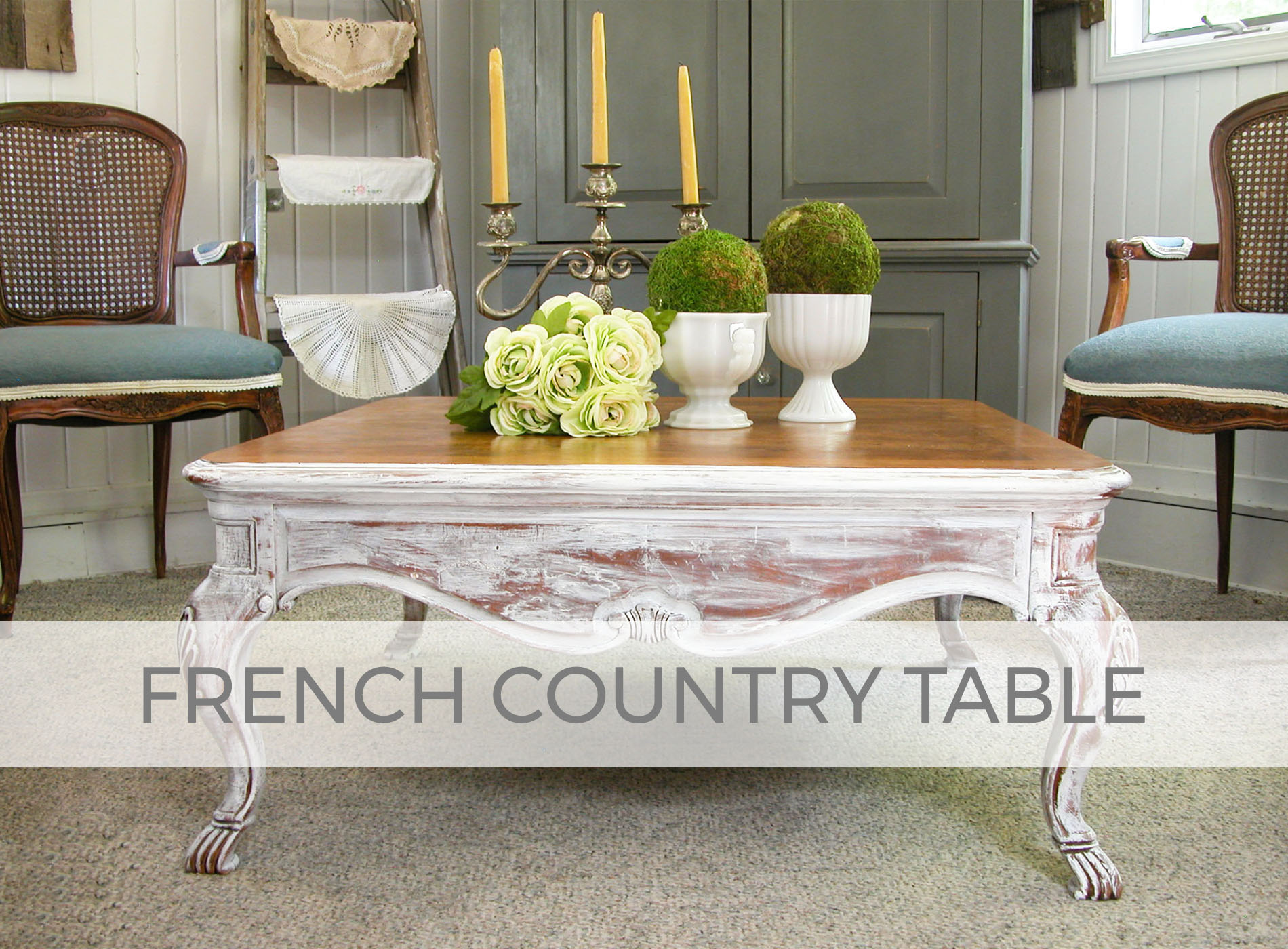 French Country Table by Larissa of Prodigal Pieces | prodigalpieces.com