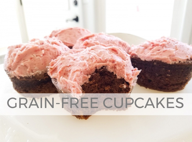 Grain-Free Cupcakes by Larissa of Prodigal Pieces | prodigalpieces.com