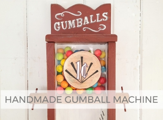 Handmade Gumball Machine Makeover by Prodigal Pieces | prodigalpieces.com #prodigalpieces #home #homedecor