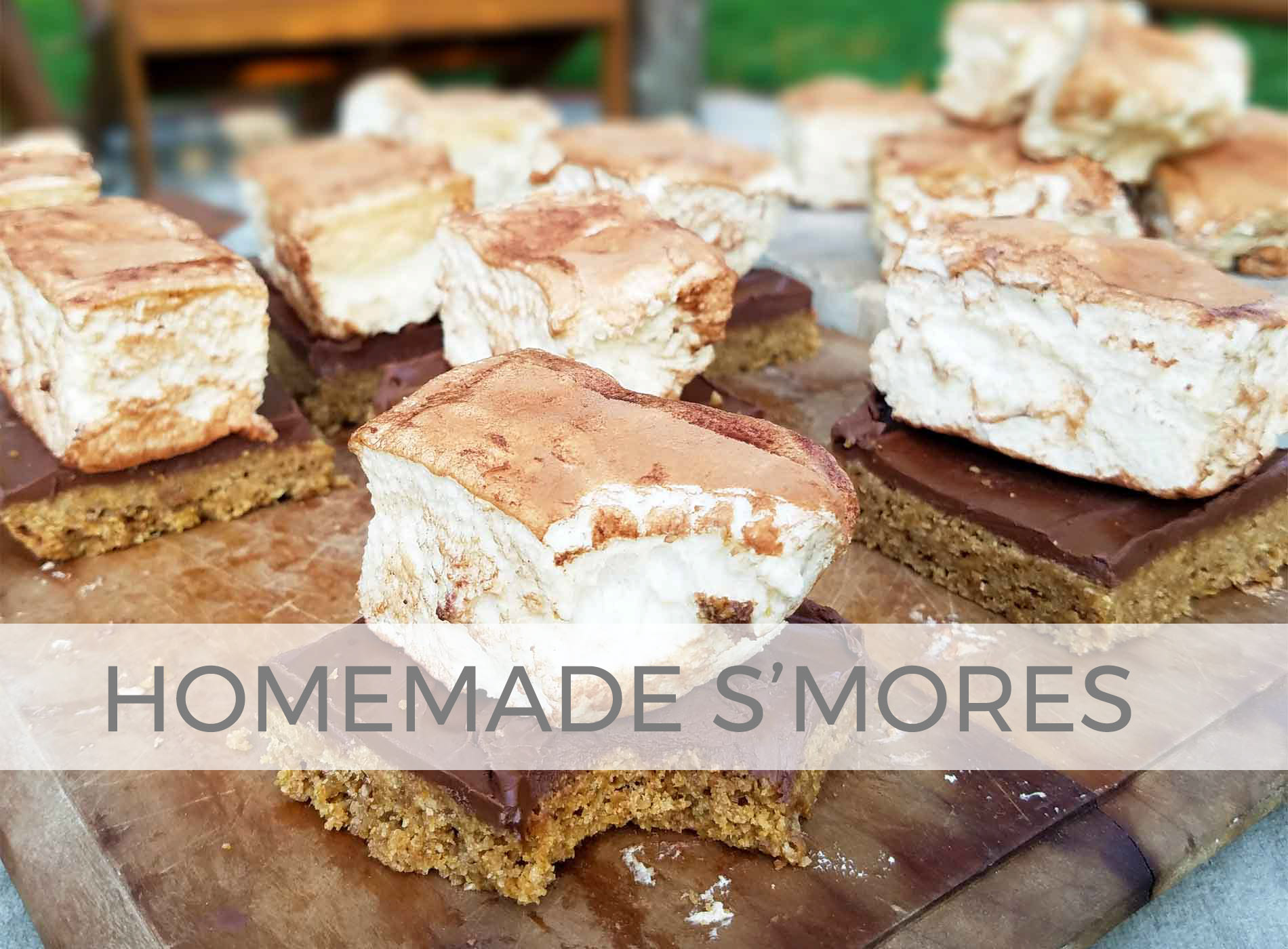 Healthy Homemade S'mores with Marshmallows by Larissa of Prodigal Pieces | prodigalpieces.com