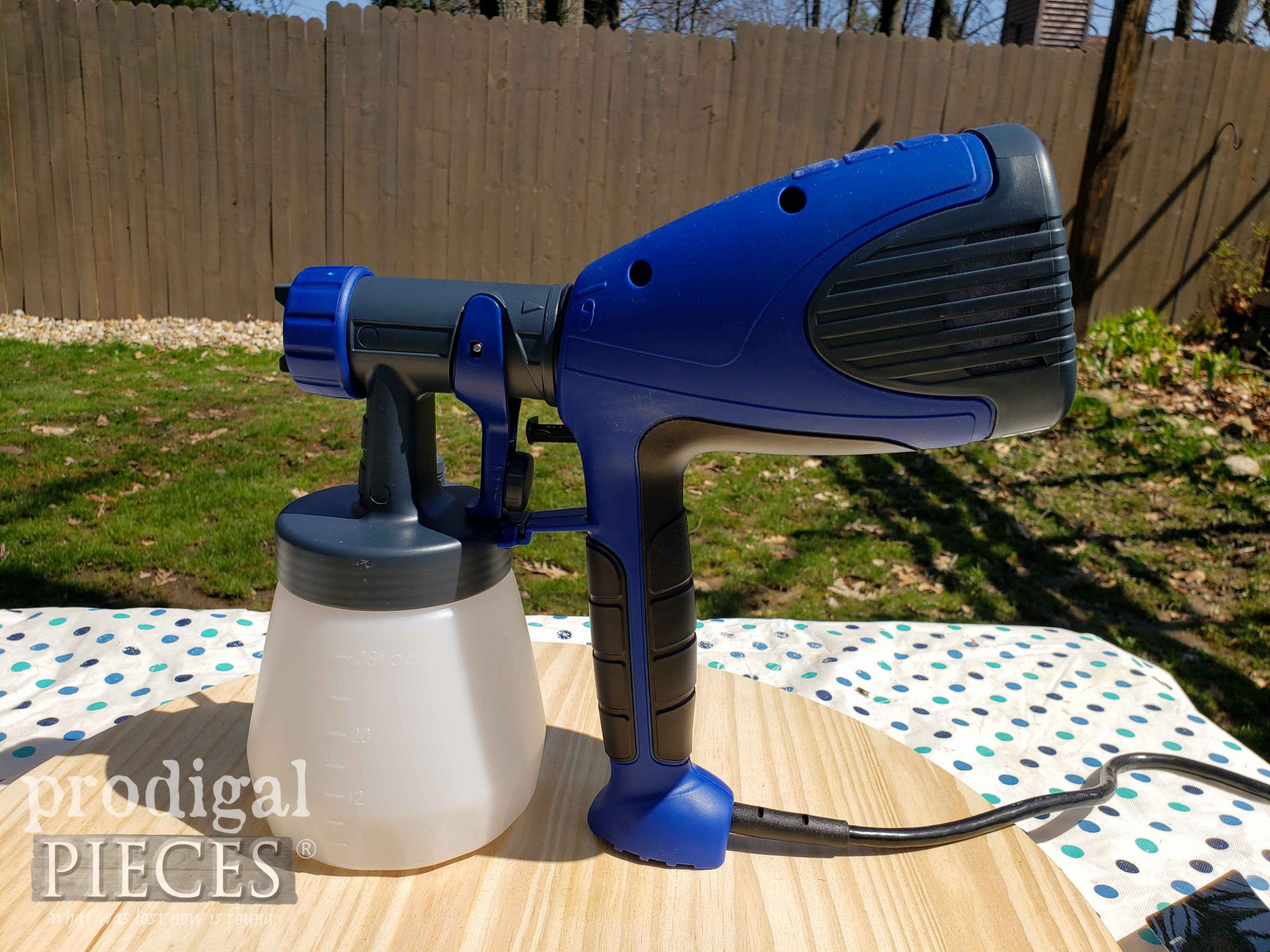 HomeRight Quick Finish Sprayer for Small Projects | featured by Larissa of Prodigal Pieces | prodigalpieces.com #prodigalpieces
