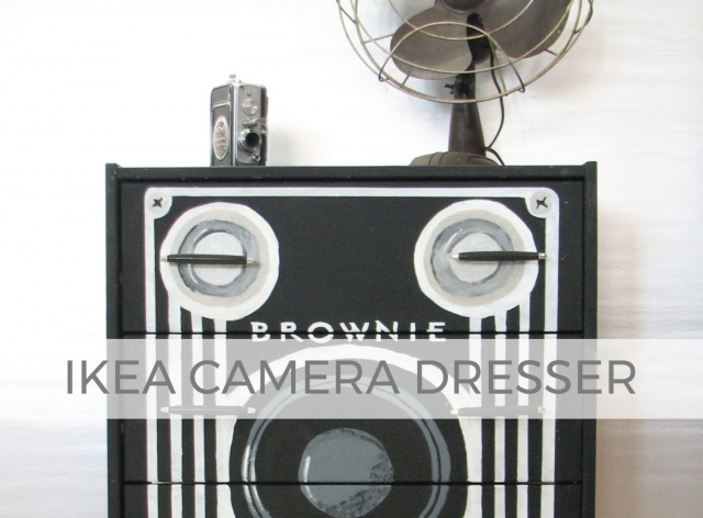 Ikea Furniture Transformed into a Vintage Brownie Camera by Larissa of Prodigal Pieces | prodigalpieces.com