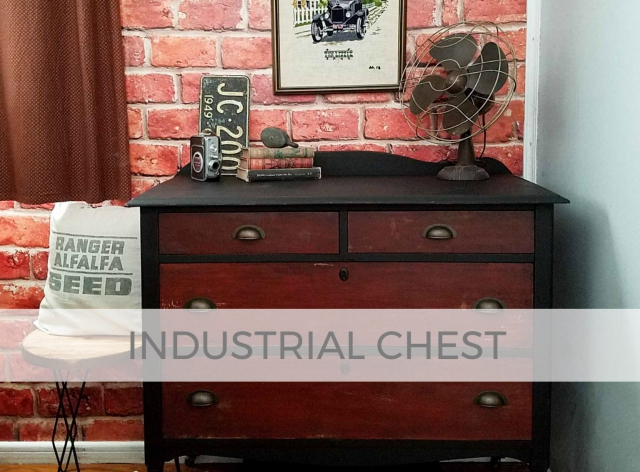 Industrial Chest of Drawers by Larissa of Prodigal Pieces | prodigalpieces.com #prodigalpieces