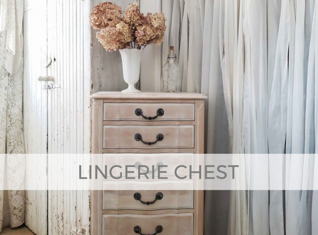 French Provincial Lingerie Chest by Larissa of Prodigal Pieces | prodigalpieces.com