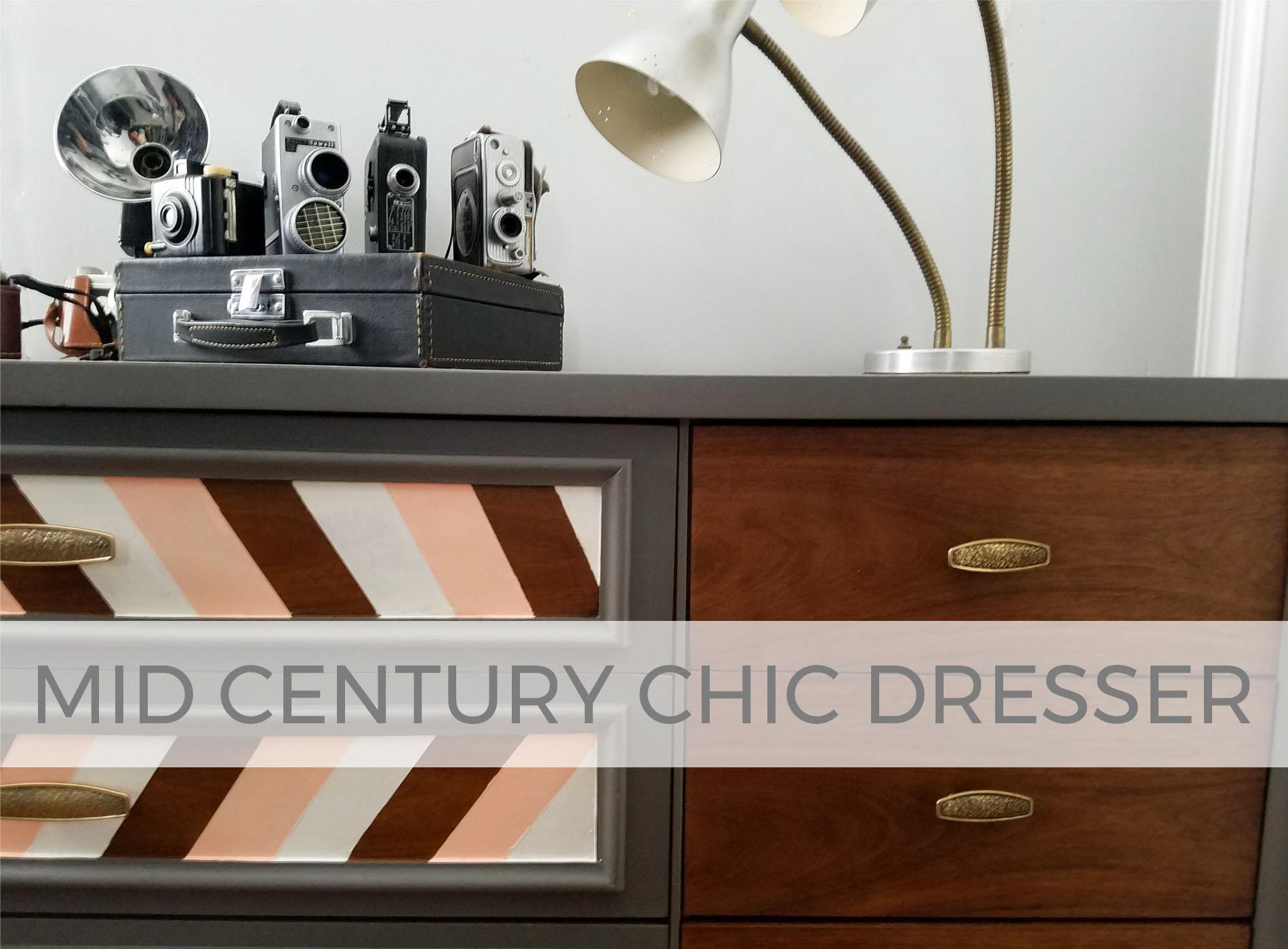 Mid Century Chic Dresser by Larissa of Prodigal Pieces | prodigalpieces.com