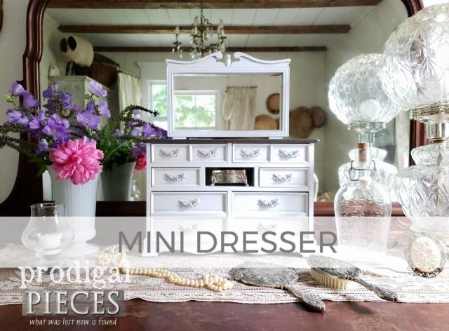 Mini Jewelry Dresser by Larissa of Prodigal Pieces | prodigalpieces.com