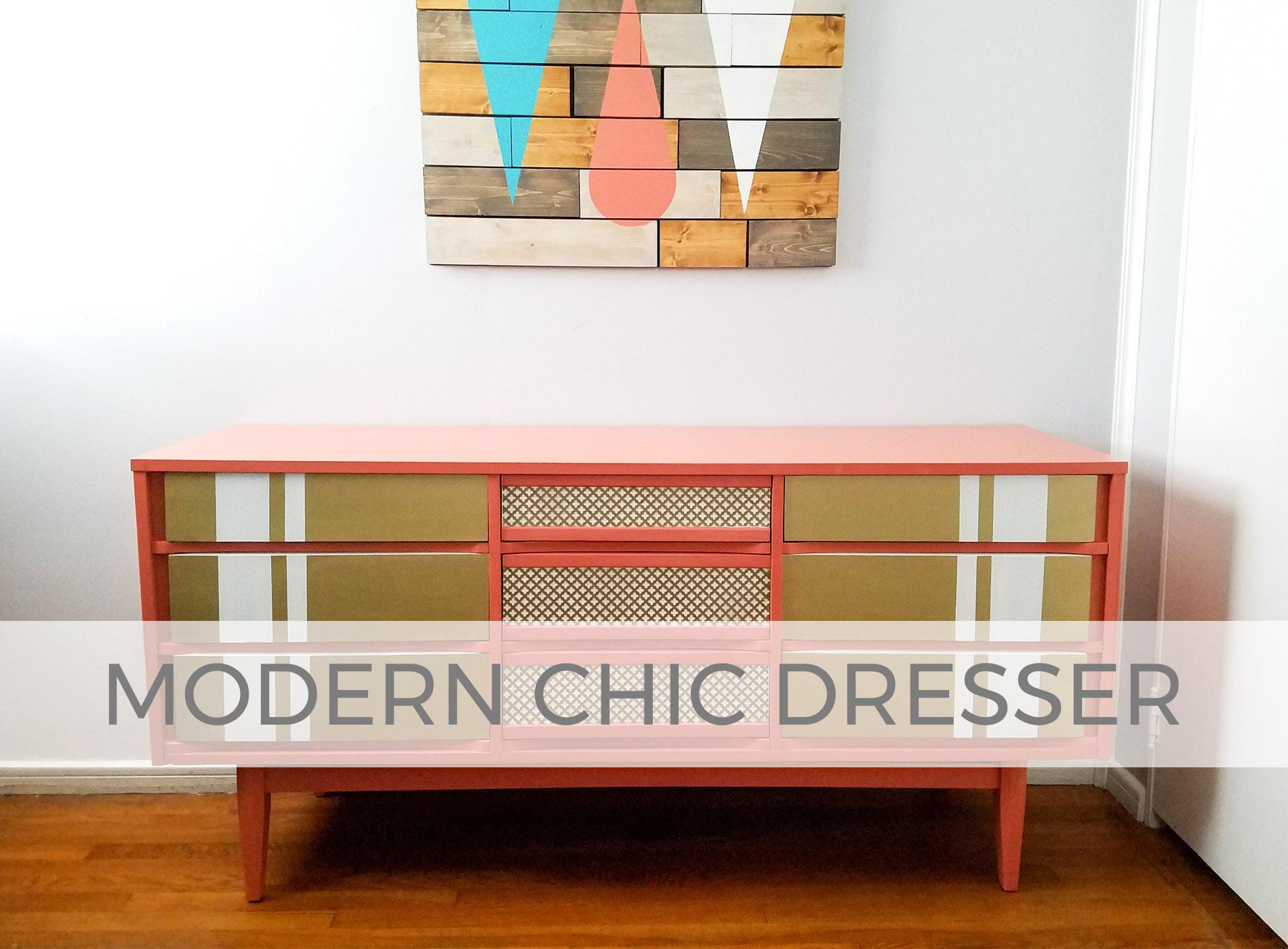 Modern Chic Dresser by Larissa of Prodigal Pieces | prodigalpieces.com
