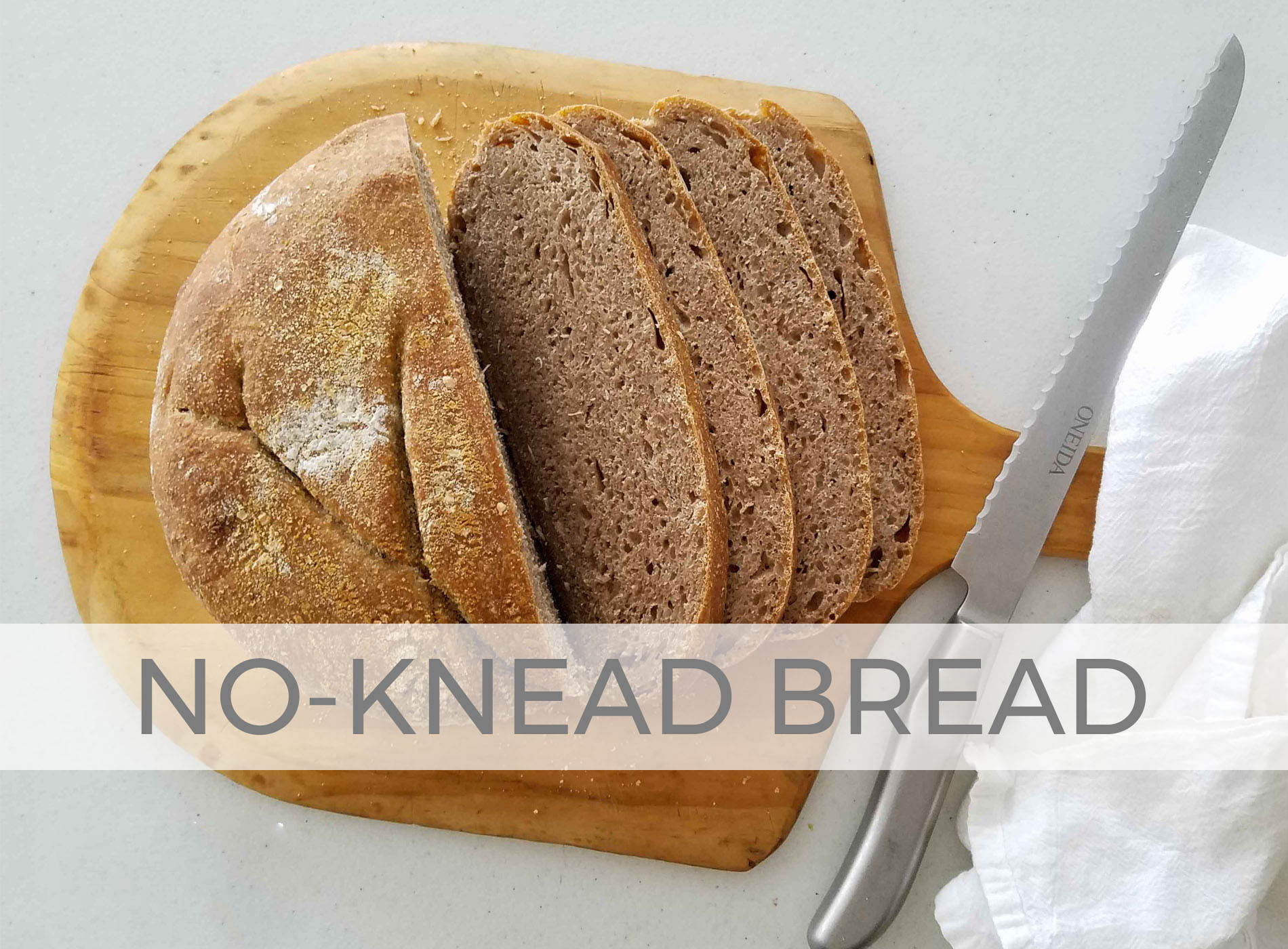 No-Knead Sourdough Bread Recipe by Larissa of Prodigal Pieces | prodigalpieces.com