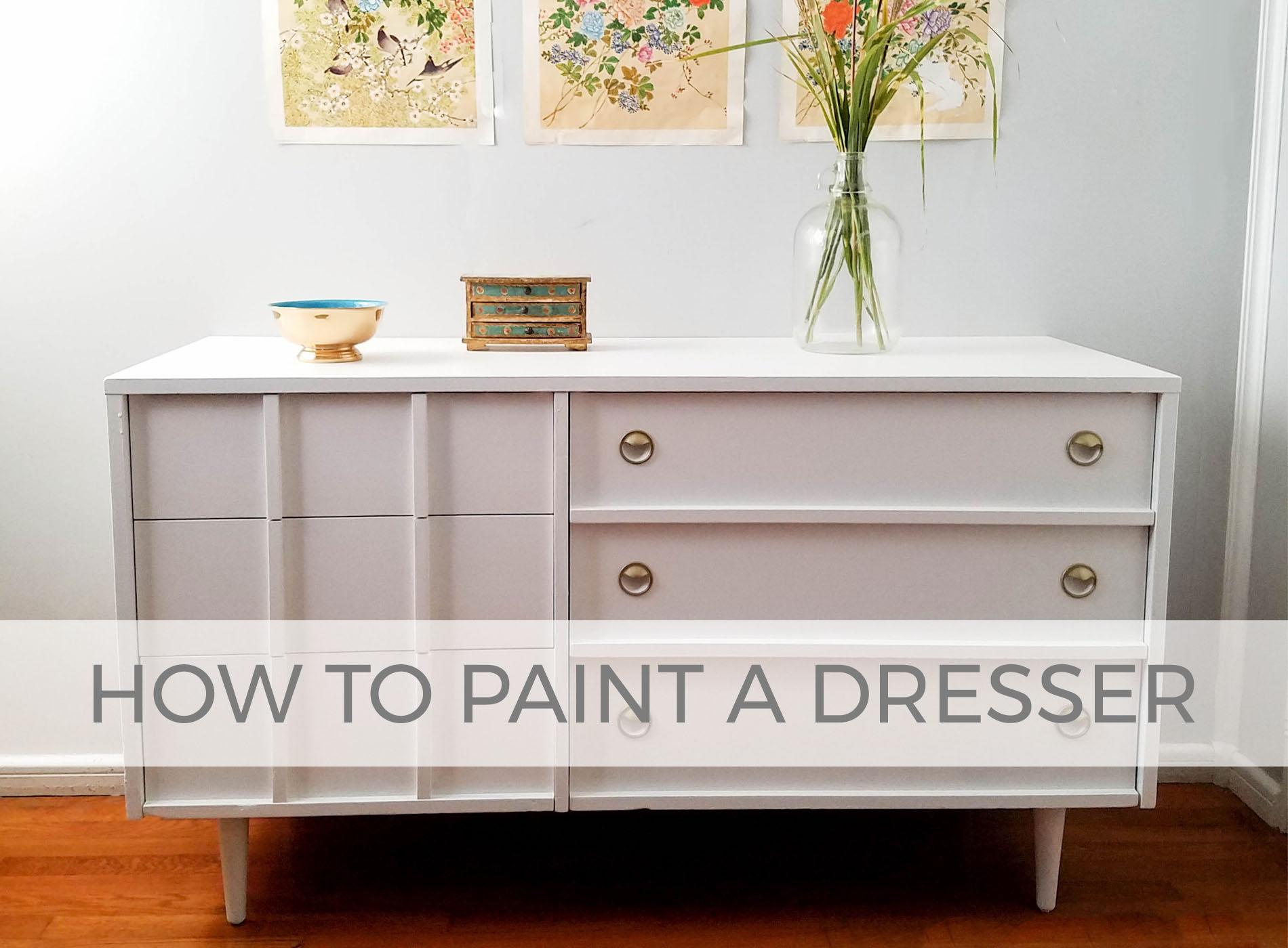How to Paint a Dresser by Larissa of Prodigal Pieces | prodigalpieces.com