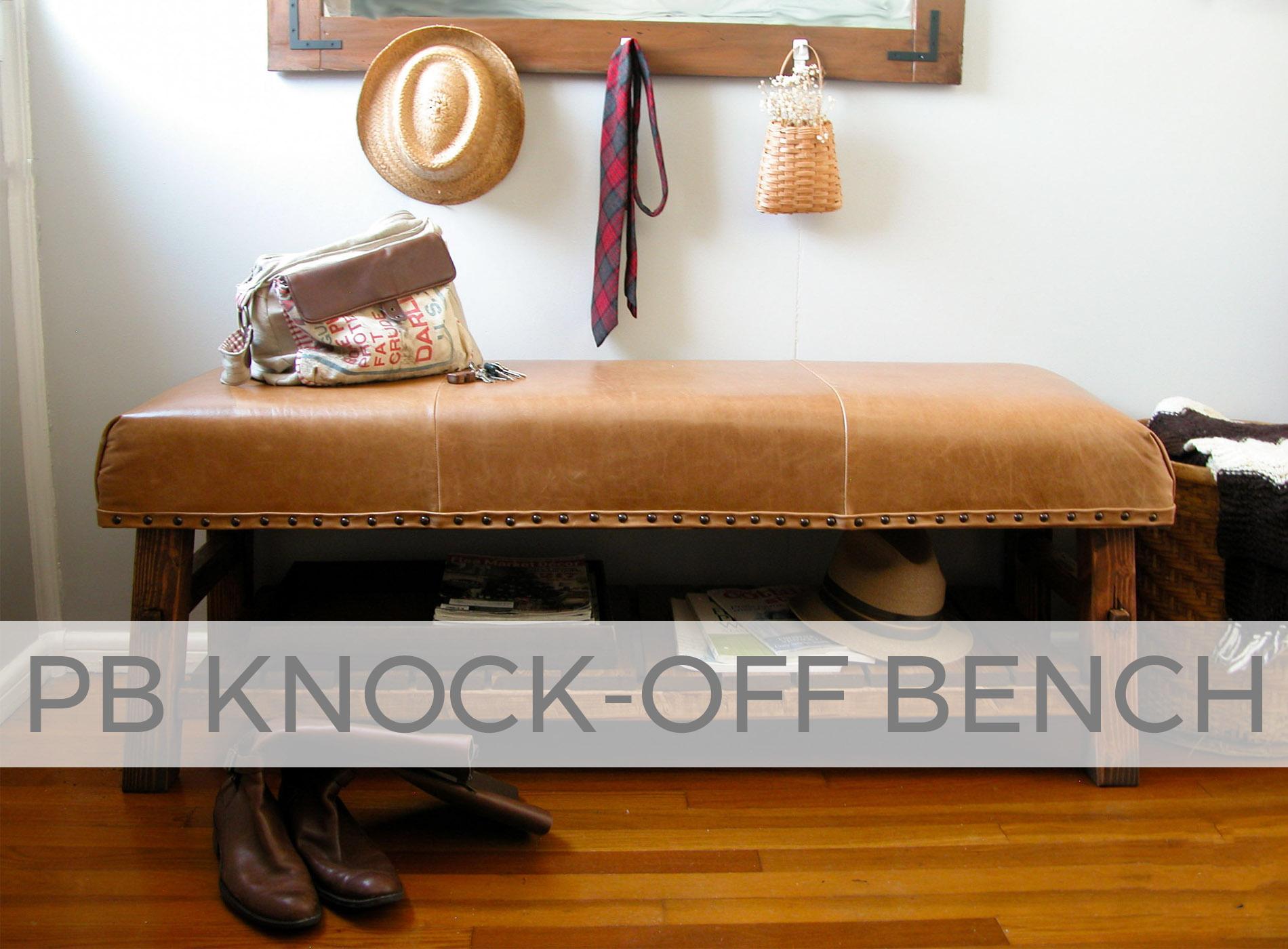 Prodigal Pieces PB Knock Off Bench | prodigalpieces.com