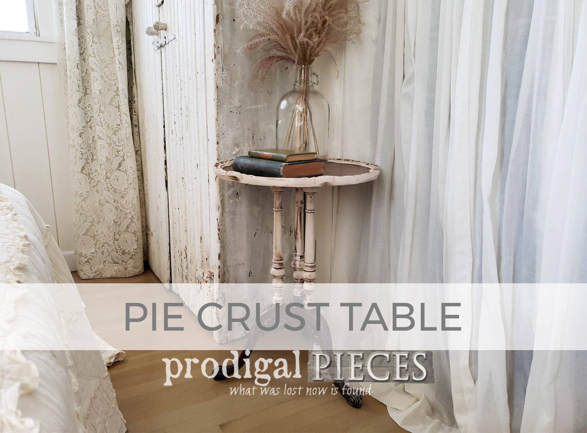 Antique Pie Crust Table by Larissa of Prodigal Pieces | prodigalpieces.com