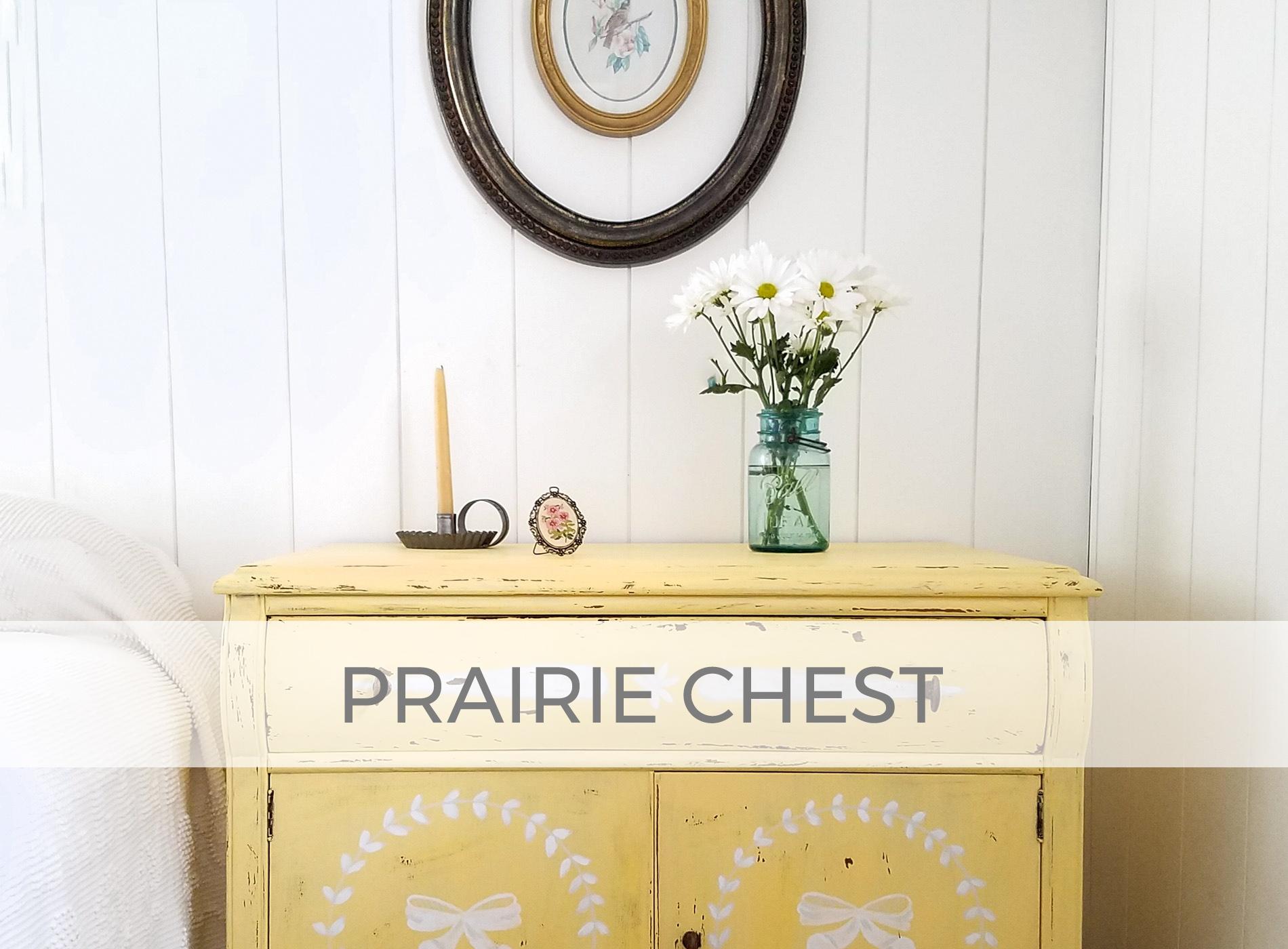 Antique Prairie Style Chest by Larissa of Prodigal Pieces | prodigalpieces.com #prodigalpieces