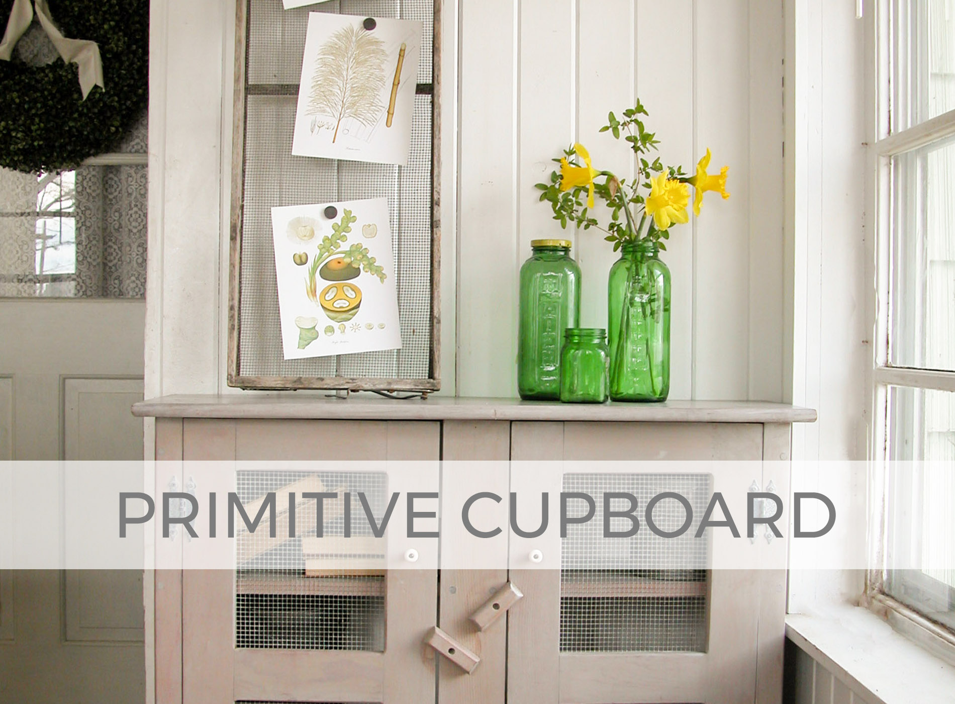 Primitive Cupboard by Larissa of Prodigal Pieces | prodigalpieces.com