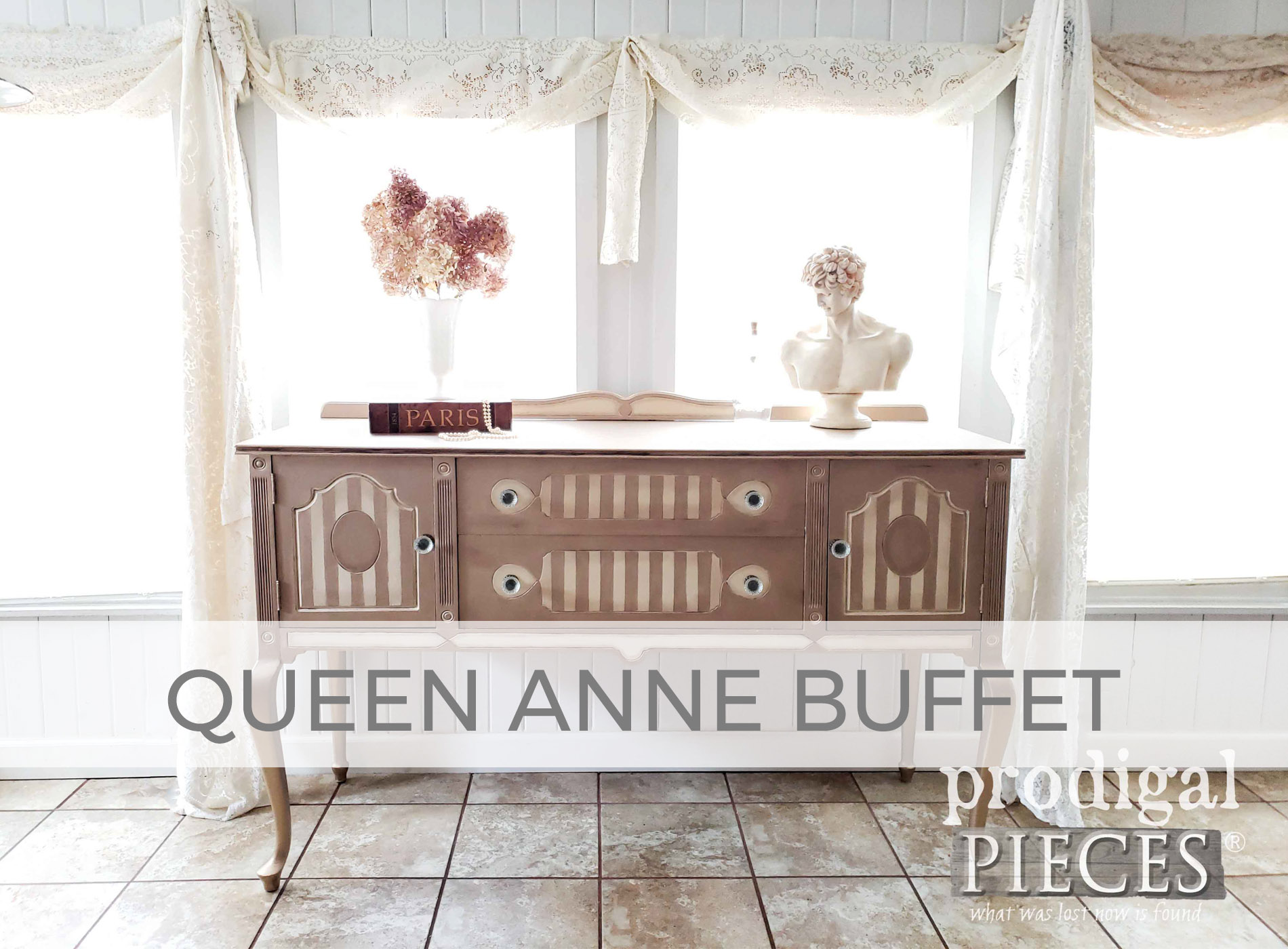 Queen Anne Buffet by Larissa of Prodigal Pieces | prodigalpieces.com