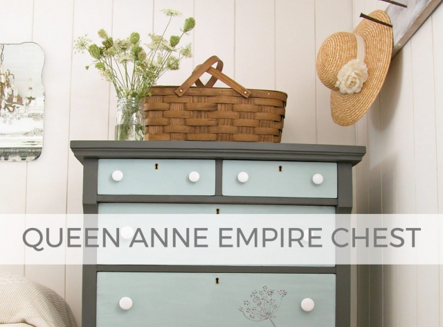 Queen Anne Empire Chest of Drawers by Larissa of Prodigal Pieces | prodigalpieces.com #prodigalpieces