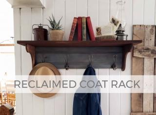 Reclaimed Coat Rack by Larissa of Prodigal Pieces | prodigalpieces.com