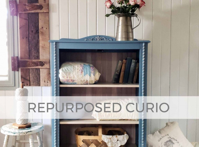 Repurposed Curio Cabinet by Larissa of Prodigal Pieces | prodigalpieces.com