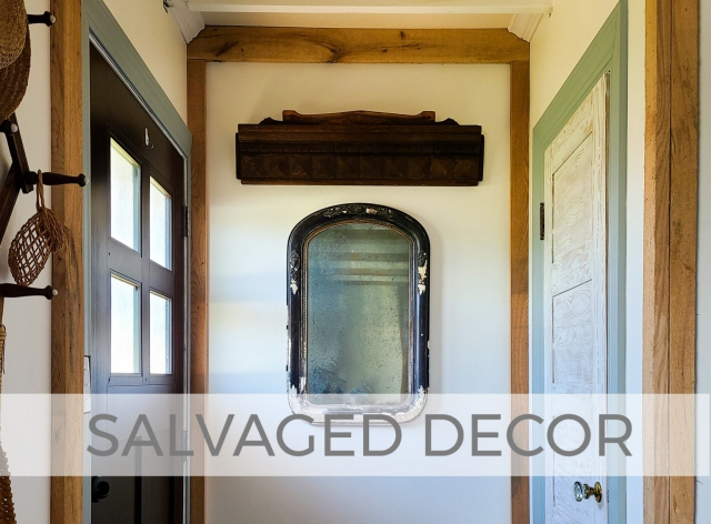 Salvaged Decor from Antique Finds by Larissa of Prodigal Pieces | prodigalpieces.com #prodigalpieces